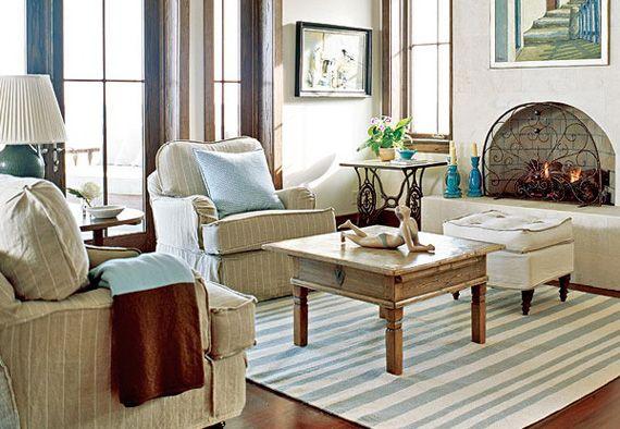 Американський інтер`єр - традиційний стиль і дизайн будинку.