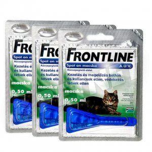 Нешкідливий для вашого вихованця, але нещадний до паразитам! Фронтлайн для кішок: ціна і інструкція до застосування
