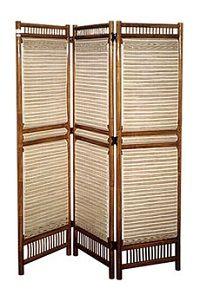 Декоративна ширма - перегородка в кімнату своїми руками легко і просто.