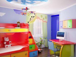 Дизайн дитячої кімнати для хлопчика, фото інтер`єрів.