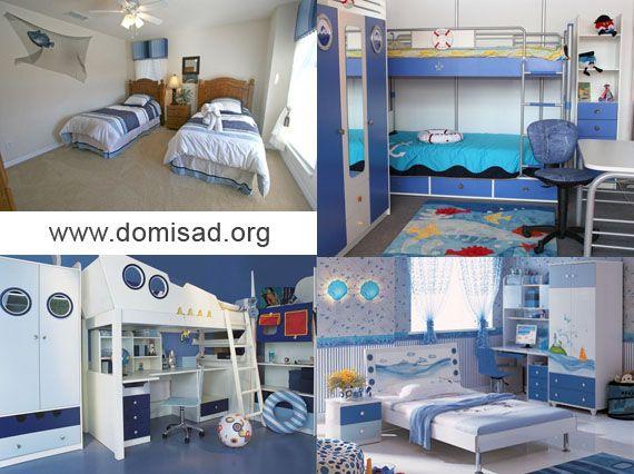 Дизайн інтер`єру дитячої кімнати і меблів в морському стилі своїми руками.