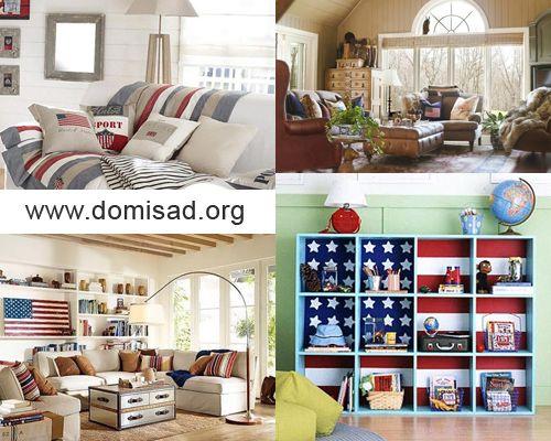 Дизайн інтер`єру в американському стилі, ідеї для декору.