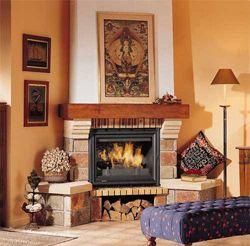 Дизайн камінів для вітальні кімнати (залу), фото інтер`єрів.