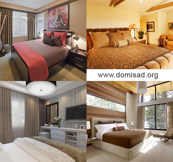 Дизайн стіни в спальні від а до я - поєднання і підбір кольорів.
