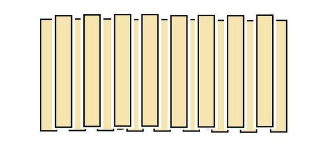 варіант побудови паркану на дачі