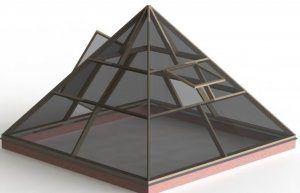Як побудувати теплицю піраміду своїми руками: з чого почати, розміри і які матеріали використовувати
