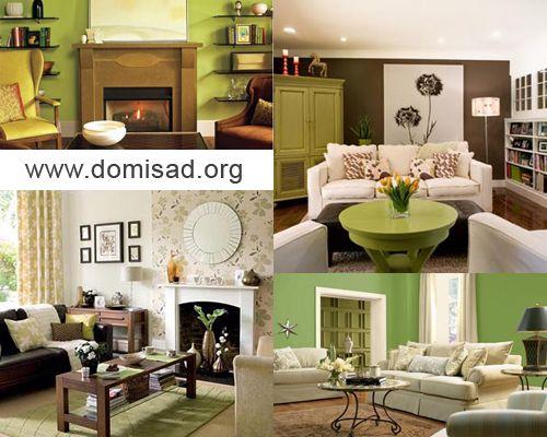 Як правильно поєднувати коричневий і зелений кольори в дизайні інтер`єрів?