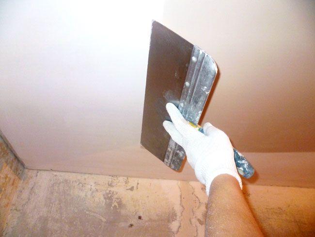 правильне шпаклювання стін