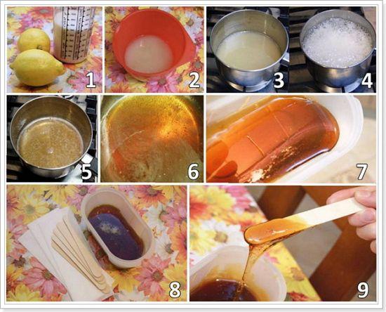 Рецепт шугаринга для домашнього використання