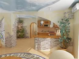 Кам`яні шпалери для квартири