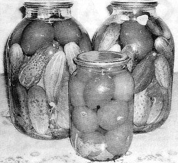 Консервування фруктів і овочів в домашніх умовах