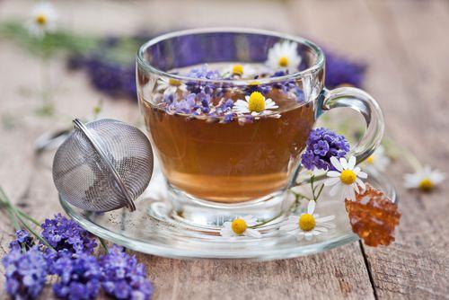 Лаванда чай