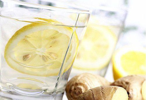 Лимонад з огірка, імбиру і м`яти