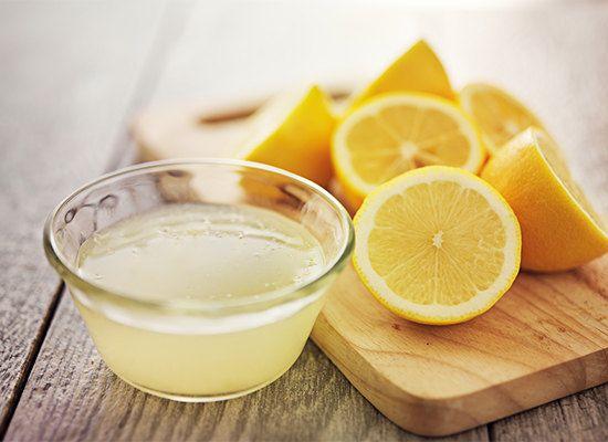 Маска для обличчя з лимоном