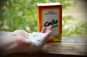 Харчова сода проти попелиці: спосіб застосування