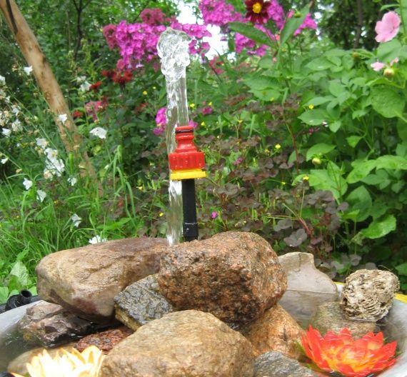міні-водойму в саду своїми руками робимо швидко