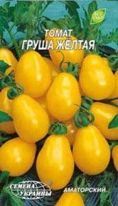 Невибагливий сорт томата «жовта груша», дуже красиво виглядає в банку взимку