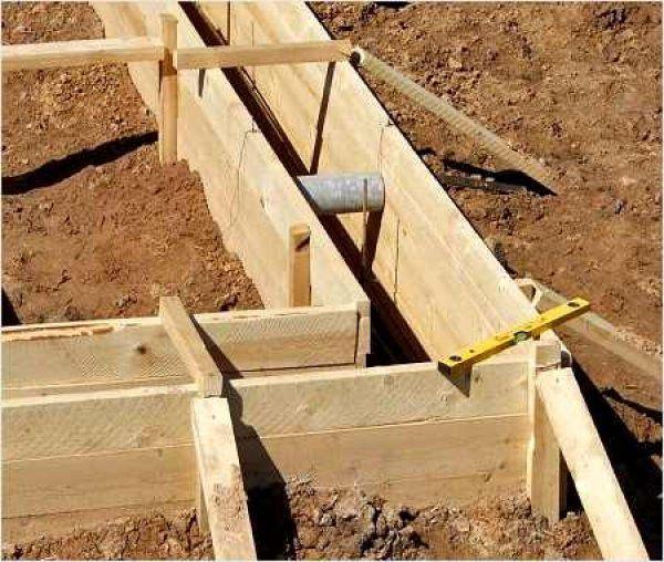 Підготовка мелкозаглубленного стрічкового фундаменту