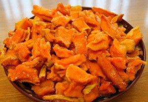 Рецепти для духовки: як зробити в`ялену морква?