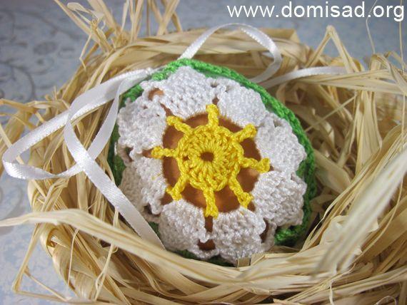 В`язана сумочка для пасхального яйця в подарунок своїми руками, майстер-клас.