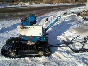 Снігохід з мотоблока