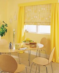 Сучасний дизайн штор для кухні, поради та фото.