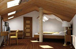 Стильні мансарди - дизайн інтер`єру будинку з мансардою, фото.
