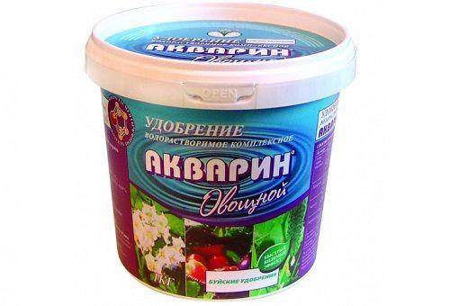 Добриво для овочів і фруктів акварин