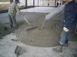 Укладання і випробування бетону, як заливати бетон, інструкції.