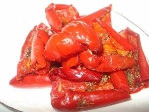 В`ялені перці: способи і рецепти приготування в домашніх умовах
