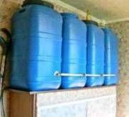 водопостачання приватного будинку бак для дачі