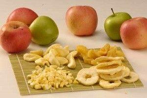 Запасаємося вітамінами: в`ялені яблука в домашніх умовах