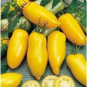 Знайомтеся - оригінальний і смачний томат «жовтий банан»: опис сорту, фото